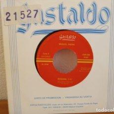 Discos de vinilo: MIGUEL RIERA - ROSANA + 1 - DISCOS GASTALDO (1989). Lote 247527630