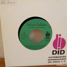 Discos de vinilo: LETICIA SABATER - LAS CHICAS SOMOS TOTALES - DID (1993) - UN SOLO TEMA EN CARA A. Lote 247528315