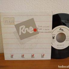 Discos de vinilo: LUNA Y LUNA - AMOR Y SALSA + LUNA LAGUNERA - (1987) PROMOCIONAL. Lote 247528945