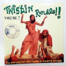 Discos de vinilo: LP TWISTIN RUMBLE VOL 7. THE SWINGIN'EST DANCE PARTY EVER!. Lote 247529995