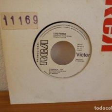 Discos de vinilo: LUIS FIERRO - CHIQUILLA + MUJER, ¿DÓNDE ESTÁS? - RCA (1978) - PROMOCIONAL. Lote 247530050