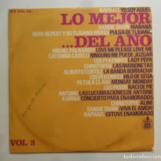 Discos de vinilo: LP - LO MEJOR DEL AÑO, VOL. 3 - RAPHAEL/SANDIE SHAW/PEKENIKES/HERB ALPERT/KARINA… - HISPAVOX - 1966. Lote 247531410