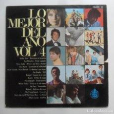 Discos de vinilo: LP - LO MEJOR DEL AÑO, VOL. 4 - SANDIE SHAW/PEKENIKES/RAPHAEL/KARINA/LOS PASOS… - HISPAVOX - 1967. Lote 247531620