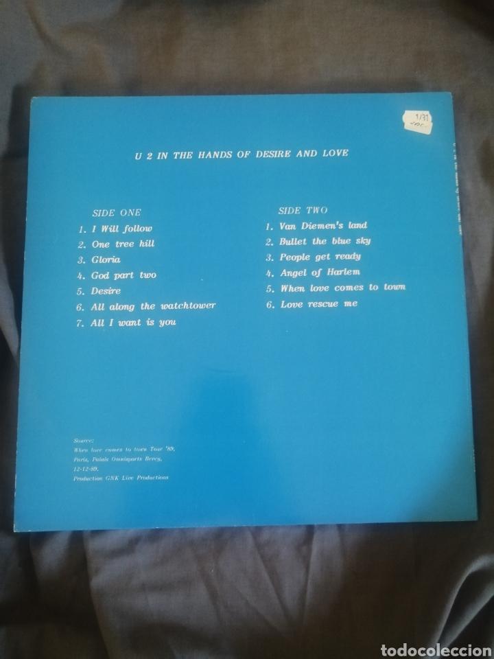 Discos de vinilo: U2 - IN THE HANDS OF DESIRE AND LOVE. (LIVE) - Foto 2 - 247541565