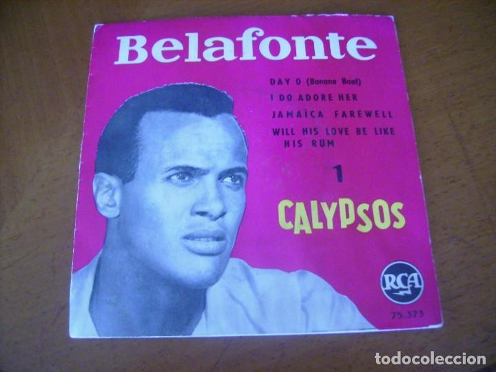 EP : BELAFONTE / ED SPAIN 45 RPM (Música - Discos de Vinilo - EPs - Pop - Rock Internacional de los 50 y 60)