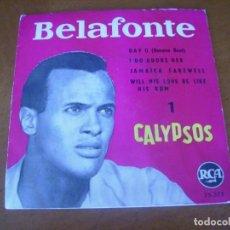 Discos de vinilo: EP : BELAFONTE / ED SPAIN 45 RPM. Lote 247545930