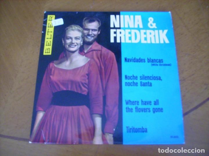 EP : NINA & FREDERIK / ED SPAIN 45 RPM (Música - Discos de Vinilo - EPs - Pop - Rock Internacional de los 50 y 60)
