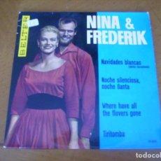 Discos de vinilo: EP : NINA & FREDERIK / ED SPAIN 45 RPM. Lote 247546135