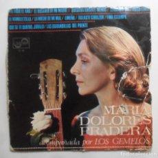 Discos de vinilo: LP - MARIA DOLORES PRADERA Y LOS GEMELOS - ZAFIRO - 1967. Lote 247551670
