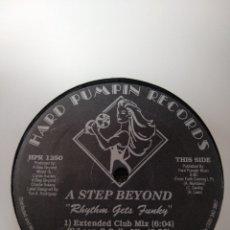 Discos de vinilo: A STEP BEYOND - RHYTHM GETS FUNKY. Lote 247557350