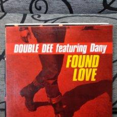 Discos de vinilo: DOUBLE DEE - FOUND LOVE. Lote 247559435