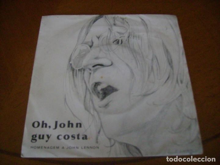 7'' : GUY COSTA - / ED PORTUGAL . 45 RPM (Música - Discos de Vinilo - Singles - Pop - Rock Internacional de los 80)