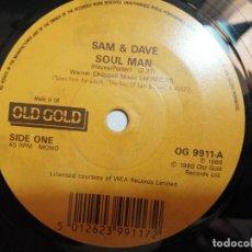 Disques de vinyle: SAM & DAVE – SOUL MAN / SOUL SISTER, BROWN SUGAR SINGLE UK VG++. Lote 247578250