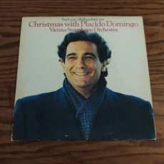 Discos de vinilo: DISCO LP DE VINILO CHRISTMAS WITH (NAVIDAD CON) PLÁCIDO DOMINGO. Lote 247580870