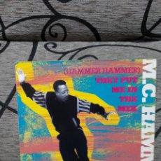 Discos de vinilo: MC HAMMER - THEY PUTA ME IN THE MIX. Lote 247586350