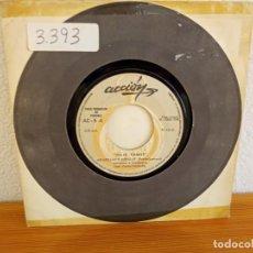 Discos de vinilo: JULIO RAMOS - AMAPOLAS Y ESPIGAS + HOLA, HI, HELLO - ACCIÓN (1969) PROMOCIONAL. Lote 247588055