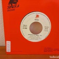 Discos de vinilo: ISAIAS - PERDIENDO EL TIEMPO + PERDIENDO EL TIEMPO - SOLERA DISCOS (1993). Lote 247593080