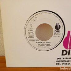 Discos de vinilo: WILFRIDO VARGAS - EL BAILE DEL PERRITO + EL BAILE DEL PERRITO - DID (1993). Lote 247593680