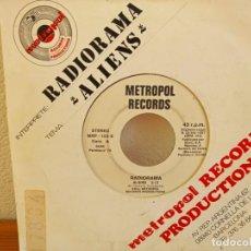 Discos de vinilo: RADIORAMA - ALIENS - METROPOL RECORDS (1987). Lote 247596585
