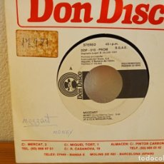 Discos de vinilo: MOZZART - MONEY - DON DISCO (1987) PROMOCIONAL UNA SOLA CARA. Lote 247597770