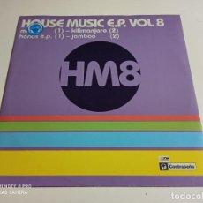"Discos de vinilo: HOUSE MUSIC E.P. VOL 8 (12"", EP). Lote 247611260"