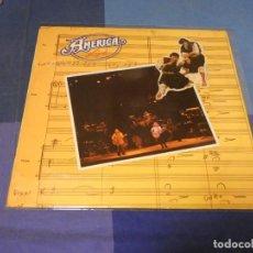 Discos de vinilo: EXPRO LP AMERICA LIVE 1977 PORTADA EN MUY BUEN ESTADO NO HAY DISCO. Lote 247613175