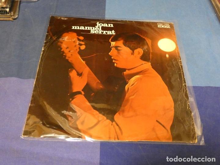 EXPRO LP JOAN MANUEL SERRAT IDEM 1968 VINILO ESTADO RAZONABLE CON PEQUEÑAS SEÑALES DE USO (Música - Discos - LP Vinilo - Jazz, Jazz-Rock, Blues y R&B)