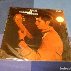 Discos de vinilo: EXPRO LP JOAN MANUEL SERRAT IDEM 1968 VINILO ESTADO RAZONABLE CON PEQUEÑAS SEÑALES DE USO. Lote 247613345