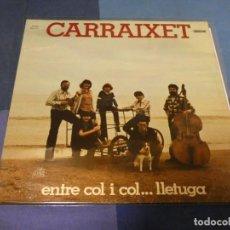 Discos de vinilo: EXPRO LP FOLK AÑO 1978 CARRAIXET, GATEFOLD BUEN ESTADO GENERAL. Lote 247613525