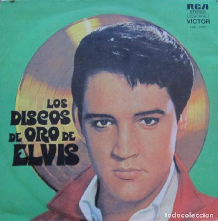 LP ARGENTINO Y RECOPILATORIO DE ELVIS PRESLEY AÑO 1958 REEDICIÓN (Música - Discos - LP Vinilo - Rock & Roll)