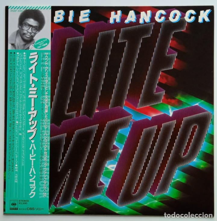 HERBIE HANCOCK – LITE ME UP JAPAN,1982 CBS/SONY (Música - Discos - LP Vinilo - Funk, Soul y Black Music)