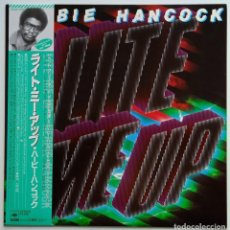 Discos de vinilo: HERBIE HANCOCK – LITE ME UP JAPAN,1982 CBS/SONY. Lote 247624490