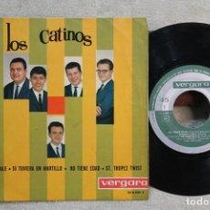 Discos de vinil: LOS CATINOS SAPORE DI SALE EP VINYL MADE IN SPAIN 1964. Lote 247642940