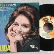Discos de vinil: DALIDA AMORE SCUSAMI EP VINYL MADE IN FRANCE. Lote 247646435