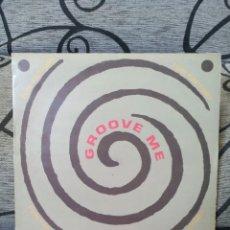 Discos de vinilo: FIN FACTORY - GROOVE ME. Lote 247646445