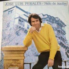 Discos de vinilo: VINILO JOSÉ LUIS PERALES. NIDO DE ÁGUILAS.. Lote 247646520
