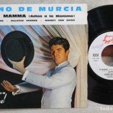 Discos de vinilo: NINO DE MURCIA LA MAMMA ( ADIOS A LA MAMMA ) EP VINYL MADE IN FRANCE 1963. Lote 247648760