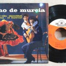 Discos de vinilo: NINO DE MURCIA ADIOS MI VIDA EP VINYL MADE IN FRANCE 1963. Lote 247649040