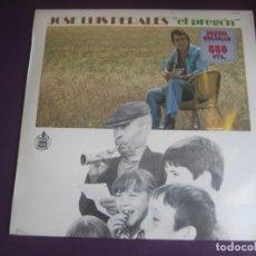 Discos de vinilo: JOSÉ LUIS PERALES – EL PREGÓN - LP HISPAVOX EDICION DE 1983 PRECINTADO - SU 2º LP DE 1974. Lote 247660445
