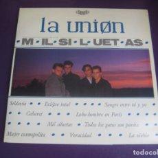 Disques de vinyle: LA UNIØN – MIL SILUETAS - LP WEA 1984 PROMOCIONAL - MOVIDA POP 80'S - CON HOJAS PROMO - SIN ESTRENAR. Lote 247660935