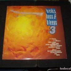 Discos de vinilo: BREAKS BASS & BLEEPS LP DOBLE VARIOS. Lote 247662545