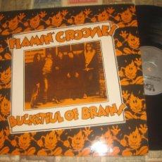 Discos de vinilo: FLAMIN´ GROOVIES - BUCKETFUL OF BRAINS (VOXX 1986) (ED. USA). Lote 247662820