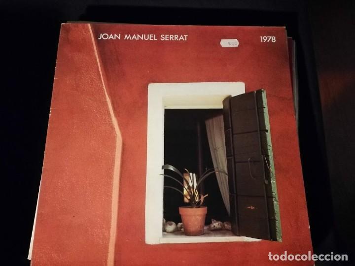 LP- JOAN MANUEL SERRAT-1978- AÑO 1978- (Música - Discos - LP Vinilo - Cantautores Españoles)