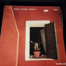 Discos de vinilo: LP- JOAN MANUEL SERRAT-1978- AÑO 1978-. Lote 247667525
