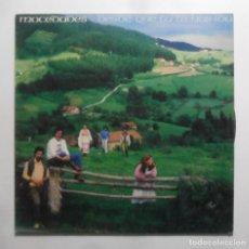 Discos de vinilo: LP - MOCEDADES - DESDE QUE TU TE HAS IDO - CBS - 1981. Lote 247673405