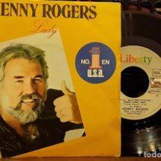 Discos de vinilo: KENNY ROGERS - LADY. Lote 247674110