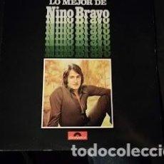 Disques de vinyle: LP-LO MEJOR DE NINO BRAVO- AÑO 1975- CON ENCARTE COMO NUEVO-POLYDOR 23 85 070. Lote 247681990
