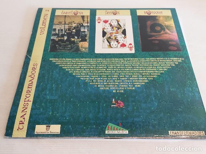 Discos de vinilo: FIRMADO !! BARCELONA FICCIÓN ROMANCE / TRANSFORMADORS. VOL. 2 / LP-GATEFOLD-1988 / MBC. ***/*** - Foto 4 - 247682685