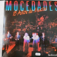 Discos de vinilo: VINILO MOCEDADES. 15 AÑOS DE MÚSICA.. Lote 247686210