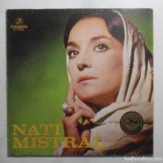 Discos de vinilo: LP - NATI MISTRAL - COLUMBIA - 1969. Lote 247689010